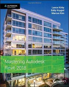 Mastering Autodesk Revit 2018-cover