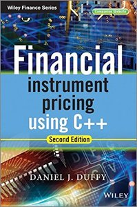 Financial Instrument Pricing Using C++, 2/e (Hardcover)-cover