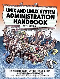 UNIX and Linux System Administration Handbook, 5/e (Paperback)-cover
