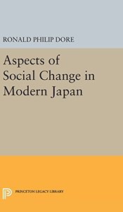 Aspects of Social Change in Modern Japan (Princeton Legacy Library)-cover