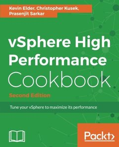 vSphere High Performance Cookbook  Second Edition-cover