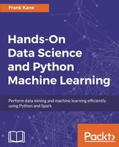 Data Science and Machine Learning with Python  Hands On!-cover