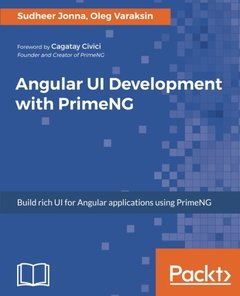Learning Angular UI Development with PrimeNG-cover