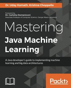 Mastering Java Machine Learning-cover