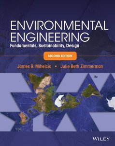 Environmental Engineering: Fundamentals, Sustainability, Design, 2/e (Hardcover)-cover