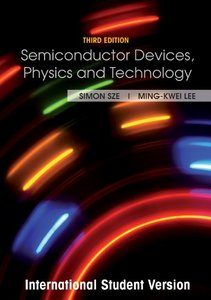 Semiconductor Devices: Physics and Technology, 3/e (IE-Paperback)-cover