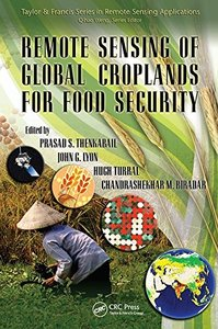 Remote Sensing of Global Croplands for Food Security (Remote Sensing Applications Series)-cover