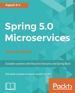 Spring 5.0 Microservices - Second Edition-cover