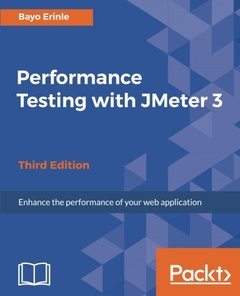 Performance Testing with JMeter 3 - Third Edition-cover