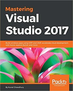 Mastering Visual Studio 2017-cover