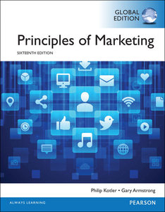 Principles of Marketing, 16/e (IE-Paperback)-cover