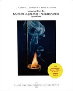 Introduction to Chemical Engineering Thermodynamics, 8/e (IE-Paperback)-cover