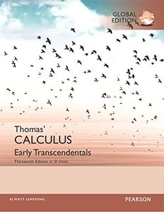 Thomas' Calculus: Early Transcendentals in SI Units, 13/e (IE-Paperback)-cover