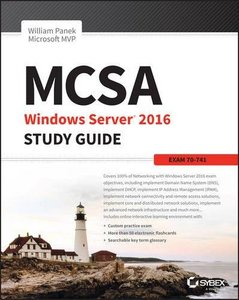 MCSA Windows Server 2016 Study Guide: Exam 70-741-cover