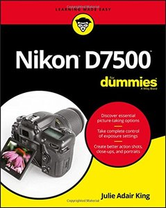 Nikon D7500 For Dummies (For Dummies (Computer/Tech))-cover