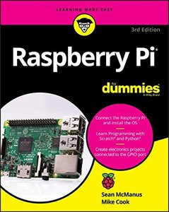 Raspberry Pi For Dummies (For Dummies (Computers))-cover