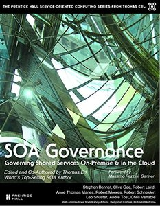 SOA Governance: Governing Shared Services On-Premise & in the Cloud (paperback) (The Prentice Hall Service Technology Series from Thomas Erl)-cover