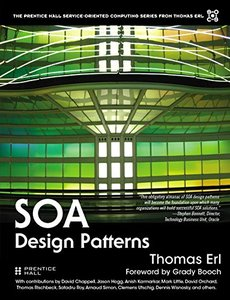 SOA Design Patterns (paperback) (Hardcover-9780136135166)-cover