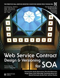 Web Service Contract Design and Versioning for SOA (paperback)(Hardcover-9780136135173)-cover