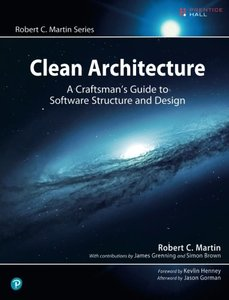 Clean Architecture: A Craftsman's Guide to Software Structure and Design (Paperback)-cover