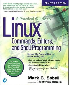 A Practical Guide to Linux Commands, Editors, and Shell Programming (4th Edition)-cover