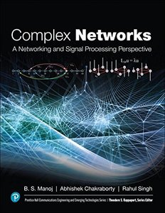 Complex Networks: A Networking and Signal Processing Perspective-cover