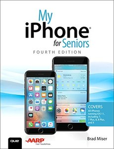 My iPhone for Seniors (4th Edition)-cover