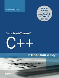Sams Teach Yourself C++ in One Hour a Day, 8/e (Paperback)-cover