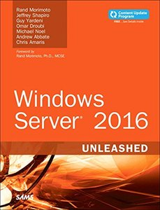 Windows Server 2016 Unleashed (includes Content Update Program)-cover