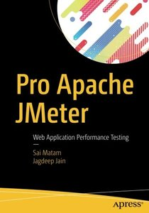 Pro Apache JMeter: Web Application Performance Testing-cover