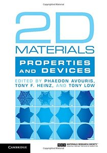 2D Materials: Properties and Devices (Hardcover)-cover