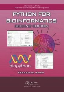 Python for Bioinformatics, Second Edition-cover