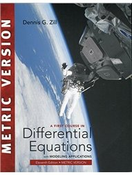 A First Course in Differential Equations with Modeling Applications, 11/e (IE-Paperback)-cover