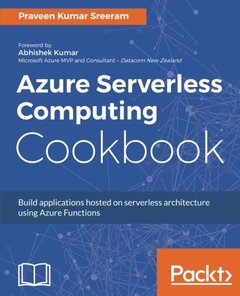 Azure Serverless Computing Cookbook-cover