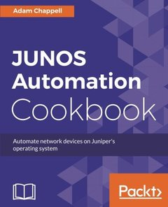 JUNOS Automation Cookbook-cover