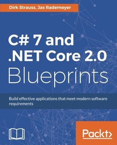 C# 7 and .NET Core 2.0 Blueprints-cover