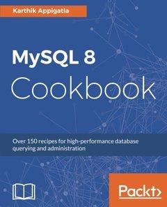 MySQL 8 Cookbook-cover