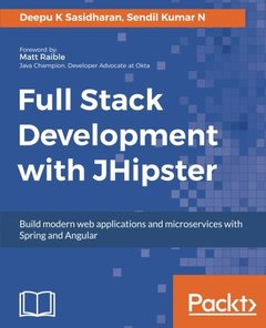 Full Stack Development with JHipster-cover