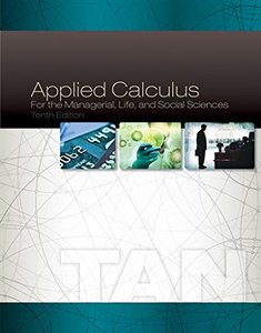 Applied Calculus for the Managerial, Life, and Social Sciences, 10/e (Hardcover)-cover