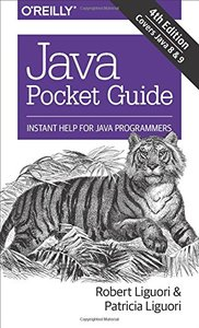 Java Pocket Guide: Instant Help for Java Programmers, 4/e (Paperback)-cover