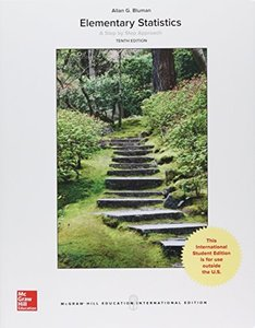 Elementary Statistics: A Step by Step Approach, 10/e (IE-Paperback)-cover