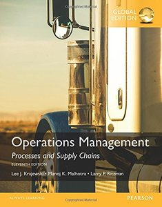 Operations Management, 11/e (IE-Paperback)-cover