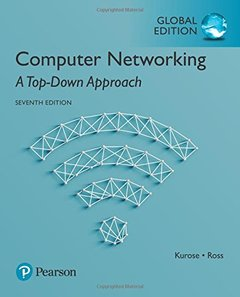 Computer Networking : A Top-Down Approach, 7/e (IE-Paperback)-cover
