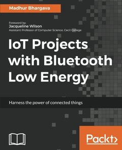 IoT Projects with Bluetooth Low Energy Paperback-cover