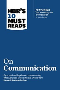 HBR's 10 Must Reads on Communication-cover