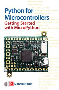 Python for Microcontrollers: Getting Started with MicroPython-cover