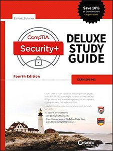 CompTIA Security+ Deluxe Study Guide: SY0-501-cover