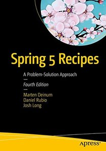 Spring 5 Recipes: A Problem-Solution Approach-cover