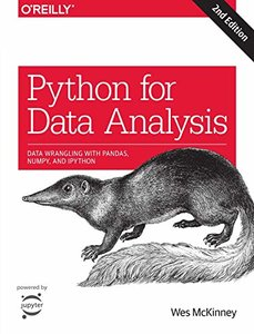 Python for Data Analysis: Data Wrangling with Pandas, NumPy, and IPython, 2/e (Paperback)-cover