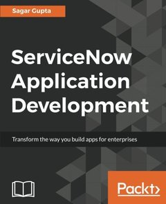 ServiceNow Application Development-cover